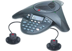 Conference Phones Wireless SoundStation 2W EX With 2 EX Microphones
