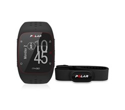 Running Watches polar m430 black with h10 xs/s