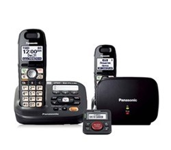 Amplified Phones panasonic kx tg6592t with range extender and call blocker